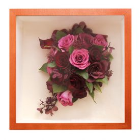 ダークレッドのバラ